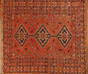 Today, Afghan rugs aren't always made - in fact - in Afghanistan.