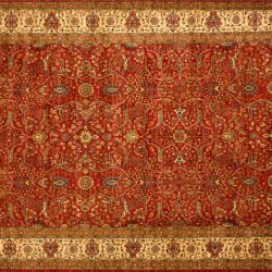 """Farahan rectangular 9' 1"""" by 11' 8"""" rug made in Afghanistan with 228 knots/inch"""