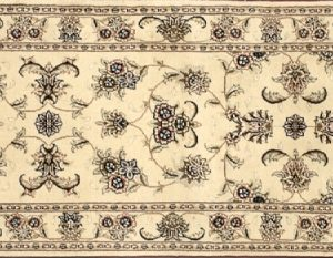 "Tabriz runner 2' 5"" by 8' 0"" rug with all-over pattern from China"